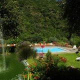 Villa Musmeci - Scorcio fontana e piscina